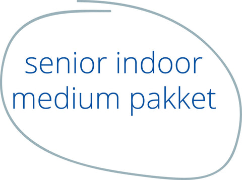 Indoorpakket Senior Medium