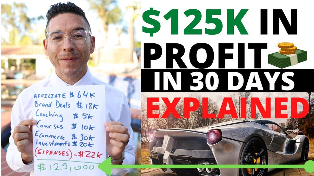 How I Made $125,000 in PROFIT in 30 Days Through Affiliate Marketing