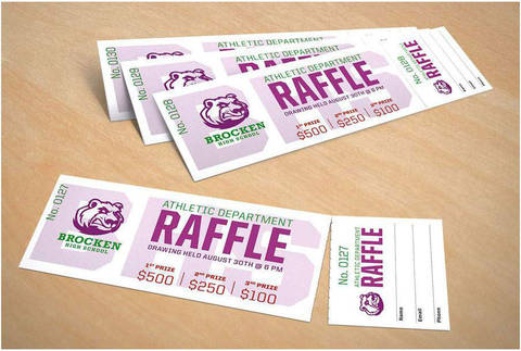 Perforated/Raffle Tickets
