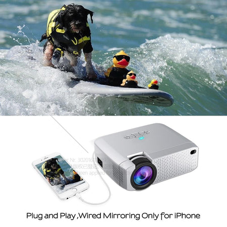 Mini LED projector Video Beamer for home Cinema AE4LIFE