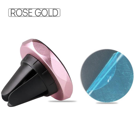 Universal Magnetic Car Phone Holder 360! AE4LIFE Rose Gold Not Rotatable