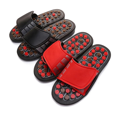 Acupressure Slipper Massager AE4LIFE All Red 10