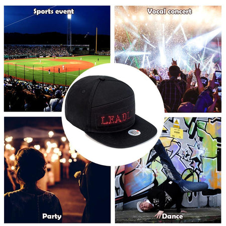 Bluetooth Led Hat Display Bluetooth Led Hat Display AE4LIFE