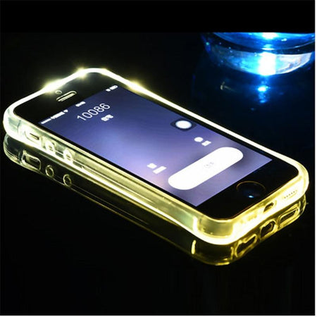 LED Transparent Flash Case For iPhone AE4LIFE