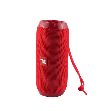 TG 117 Wireless Bluetooth Outdoor Speaker Stereo Bass AE4LIFE Red