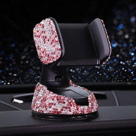 Crystal Car Phone Holder Car Accessories AE4LIFE