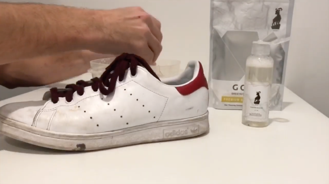 Shoe Cleaning 101 - Basic Tutorial Video