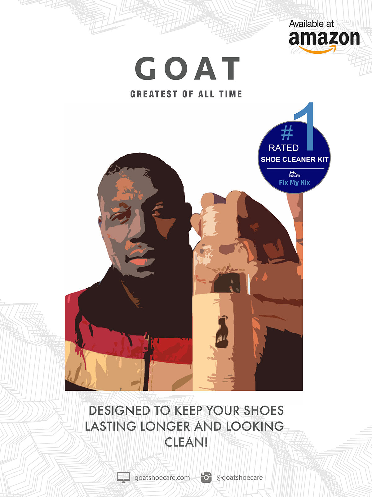 Goat Shoe Care teams up with @fixmykixs