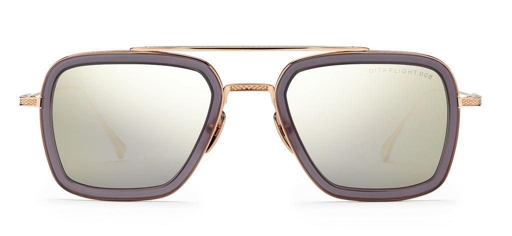 Dita Flight .006 - Gold - Albert Hazan Optician