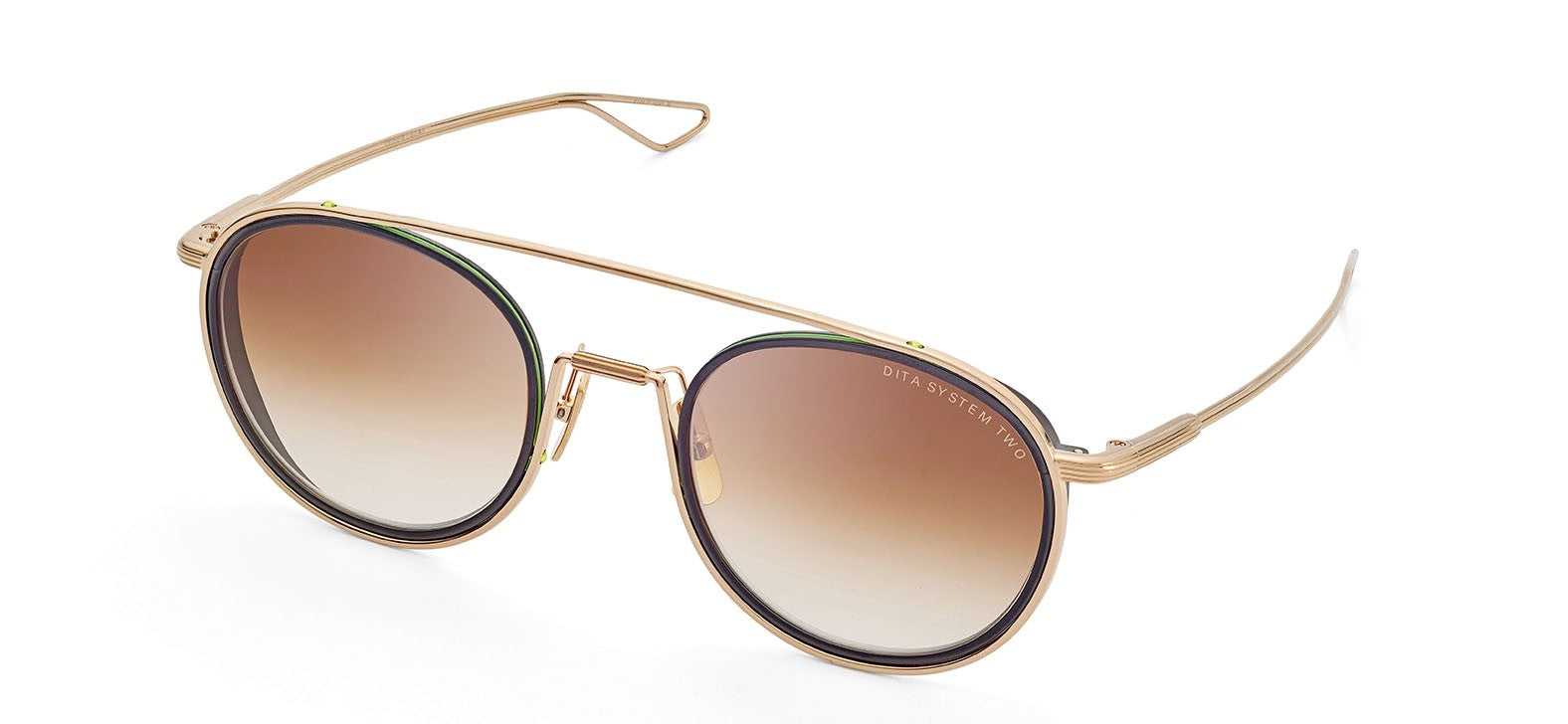 Dita System Two - Gold - Albert Hazan Optician