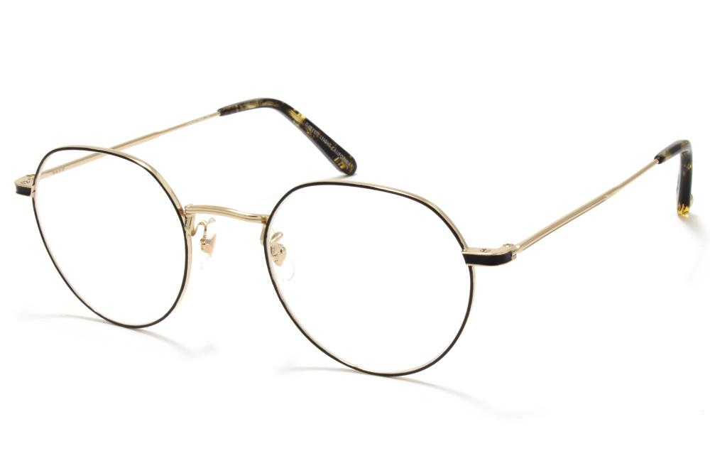 Garrett Leight Robson - Gold Black, Amber