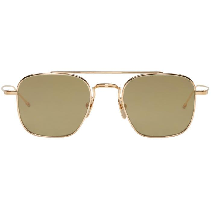 Thom Browne 907 - Gold - Albert Hazan Optician