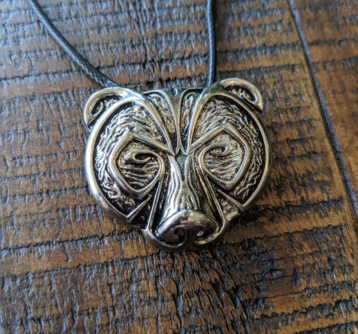 Nordic Bear Pendant Necklace
