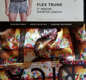 Donuts with Sprinkles 3 Inch inseam Flex Trunk.