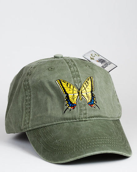 Yellow Tail Swallow Tail Butterfly Cap