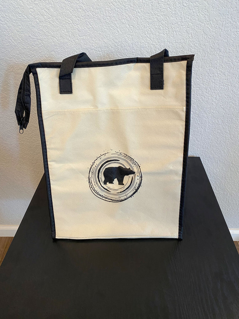Insulated Reusable Shopping Bag - Concentric Bear