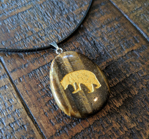 Bear Pendant Necklace