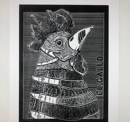 That Cock is Insane - Art Print