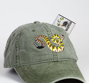 Blacktail Rattle Snake Cap