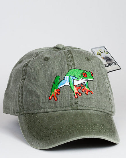 Red Eye Tree Frog Cap