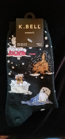 Puppy Bath time Socks
