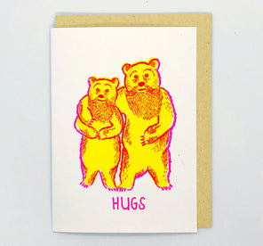 Greeting Card - Bear Hugs