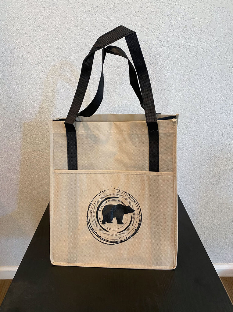 Reusable Shopping Bag - Concentric Bear