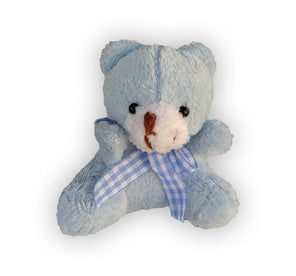 Plush Teddy Bear - Blue