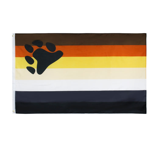 Bear Pride Flag - 3' x 5'