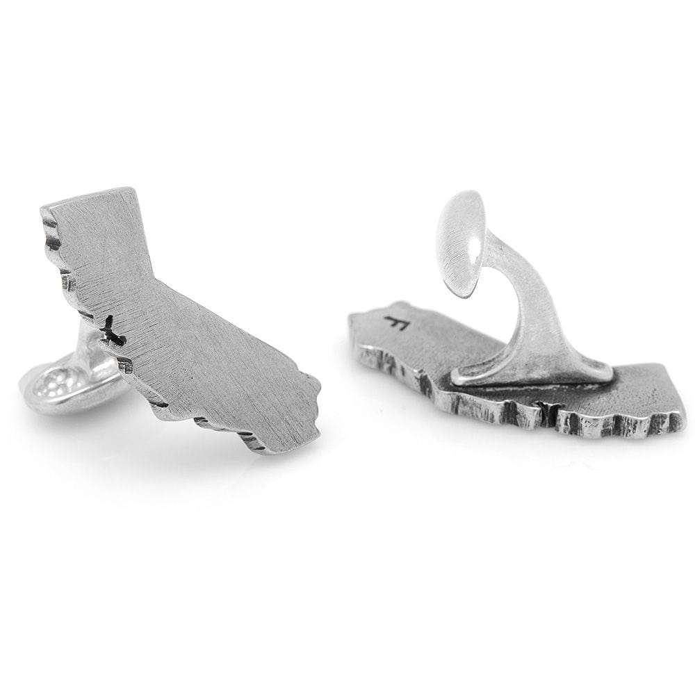 Pewter California Cufflinks