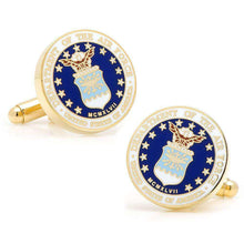 Load image into Gallery viewer, US Air Force Cufflinks