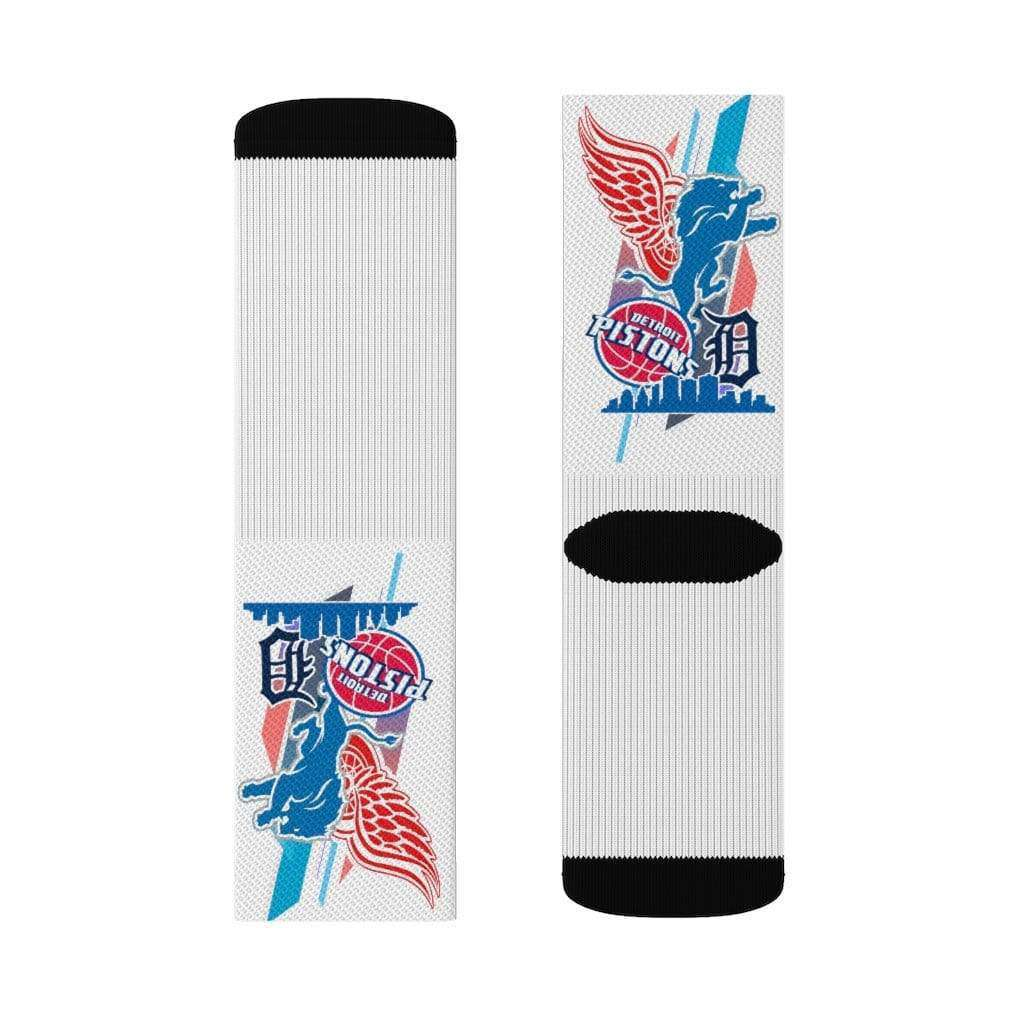 INOLTRE All Over Prints Sports Detroit Sublimation Socks