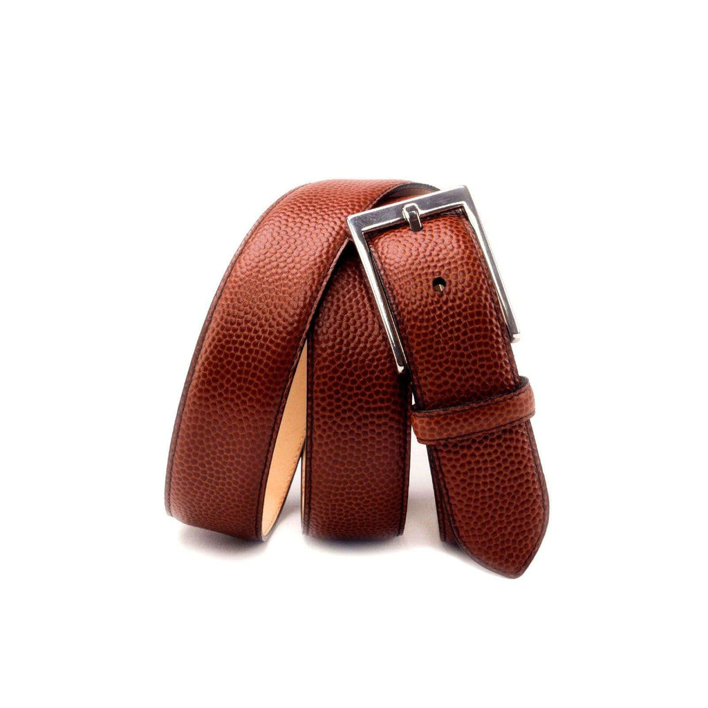 INOLTRE Belt Brown Hampton Pebble Belt