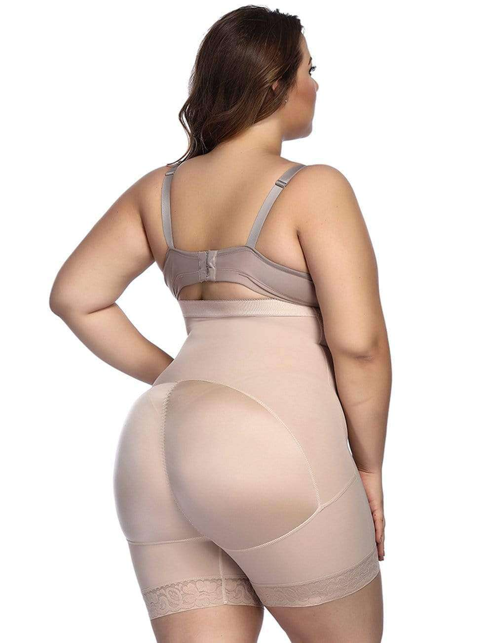 Nude Anti-Curl Butt Enhancer Posture Corrector Shapewear