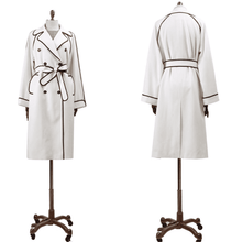 "Load image into Gallery viewer, Inoltre's ""Mrs. Fall"" Cotton Trench Coat (Made to Measure)"