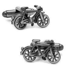 Load image into Gallery viewer, Bicycle Cufflinks Cufflinks INOLTRE