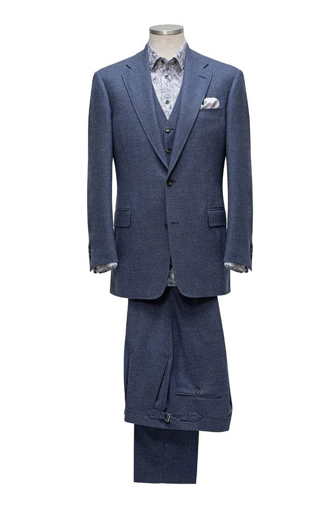 INOLTRE Suits Custom / Blue Mr.Grand River Suit ( Made to Measure)