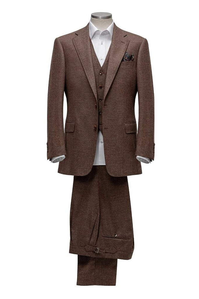 INOLTRE Suits Custom / Brown Mr. Jefferson Suit ( Made to Measure)