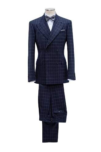 INOLTRE Suits Custom / Navy Mr. Belle Isle Suit (Made to Measure)