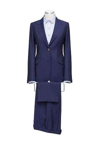 INOLTRE Suits custom / Navy Ms. CEO Suit ( Made to Measure)
