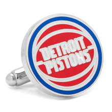 Load image into Gallery viewer, Detroit Pistons Cufflink