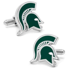 Load image into Gallery viewer, Michigan State Spartans Cufflinks