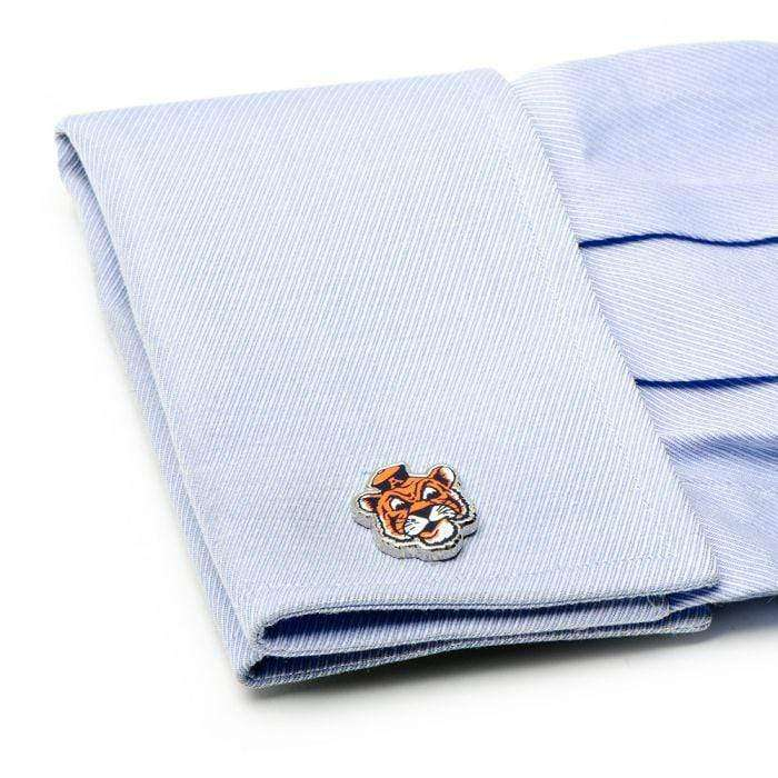 NCAA Cufflinks Vintage Auburn University Tigers Cufflinks