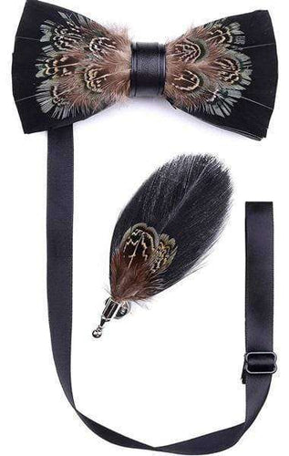 CENTURY FEATHER BOW TIE SET Bow Ties Shopinoltre