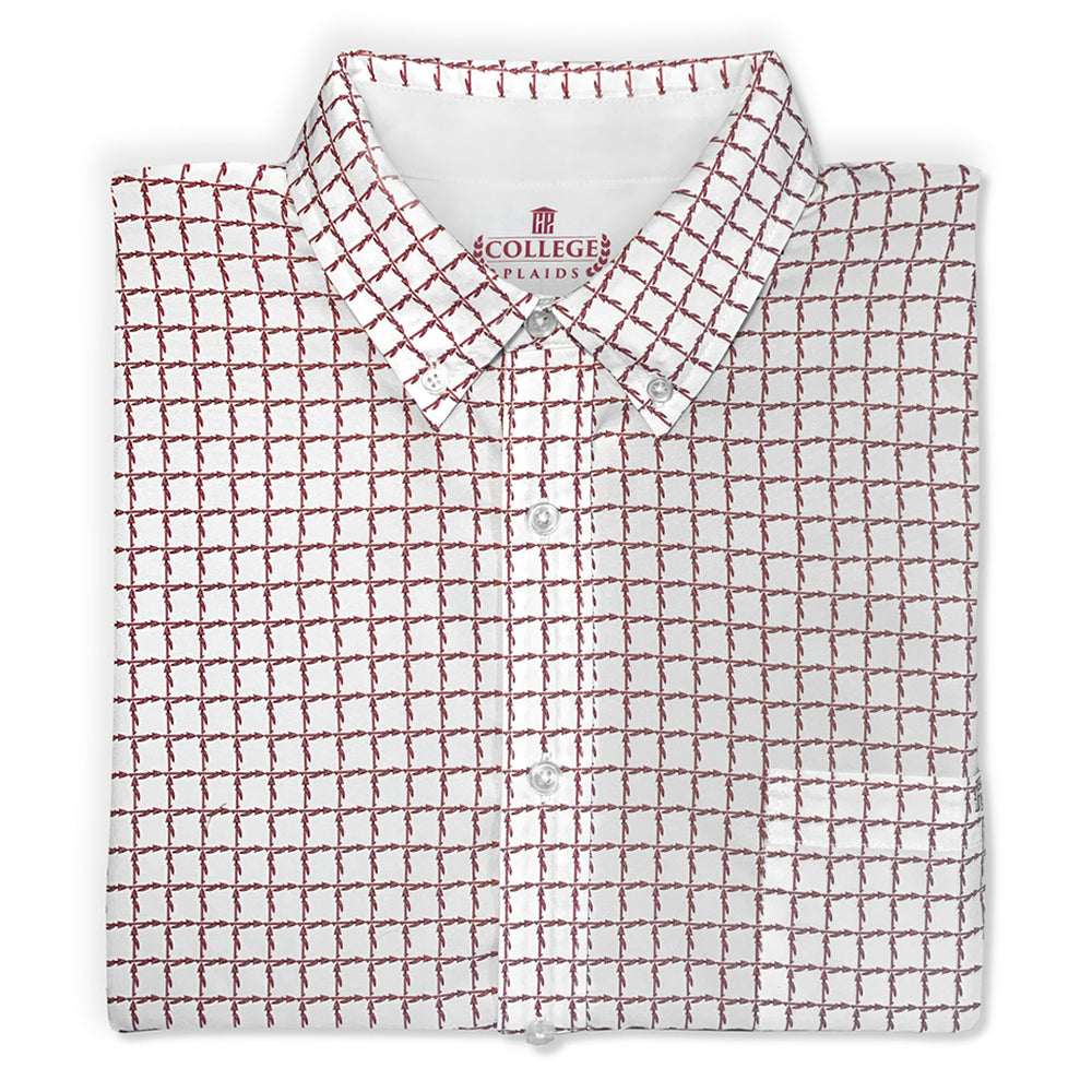 "Florida State University FSU ""The Spear"" Short Sleeve Woven Shirt"