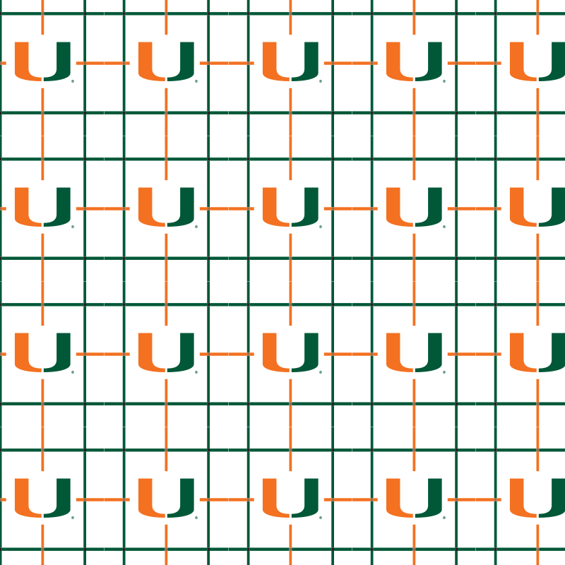 University of Miami Hurricanes Short Sleeve Woven Shirts