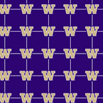 University of Washington Huskies Short Sleeve Woven Shirts