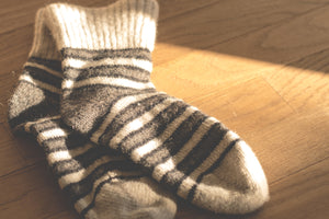Who Invented Socks?