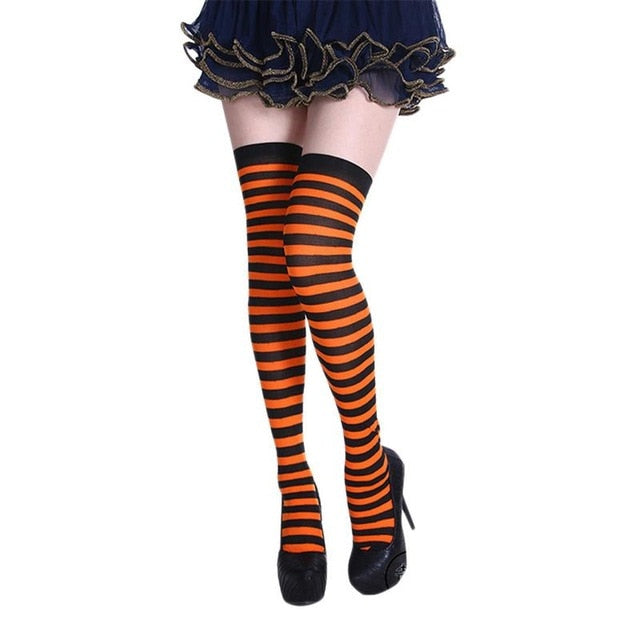 Light Weight Black & Orange Stripes
