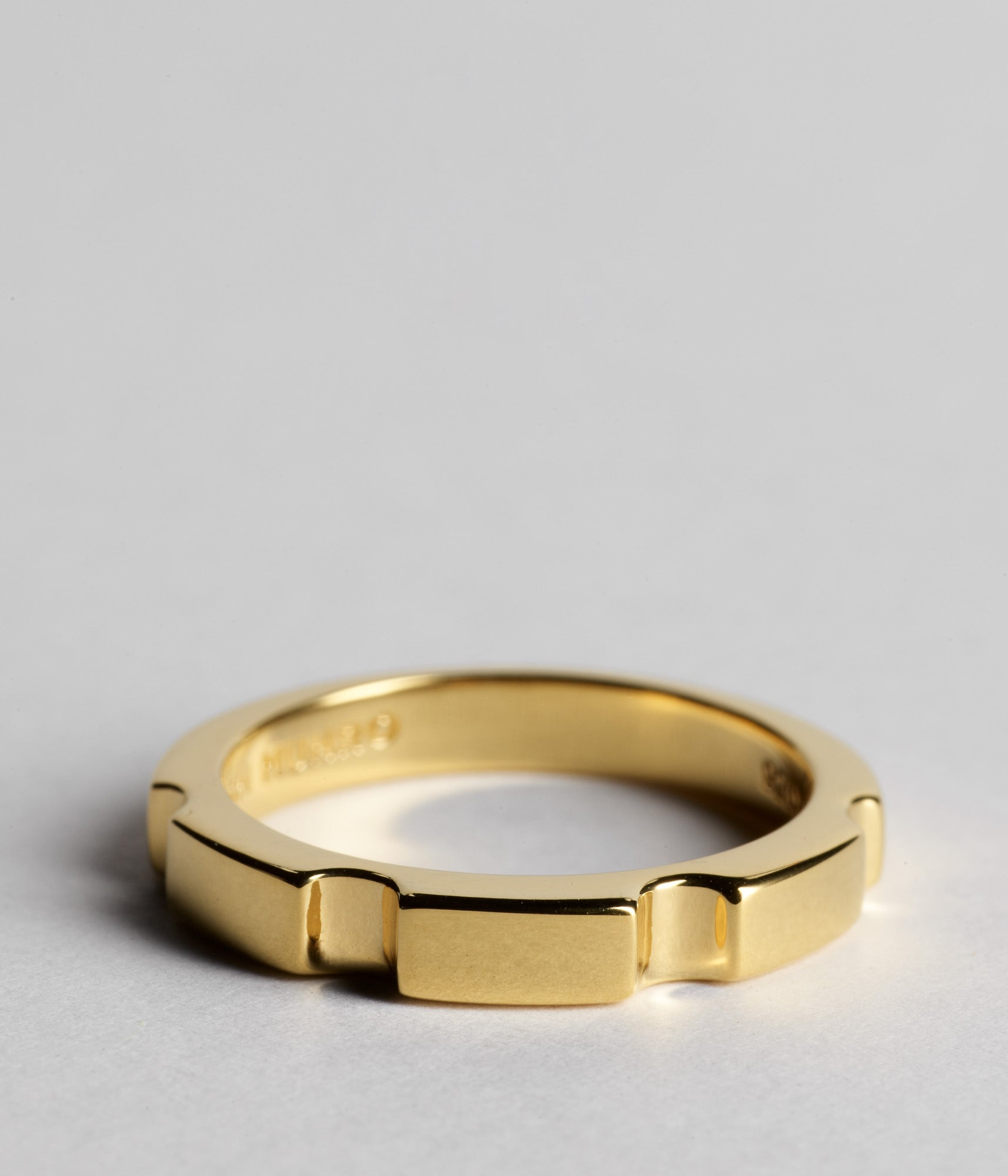 Parmentier Bridge Ring - Gold Vermeil
